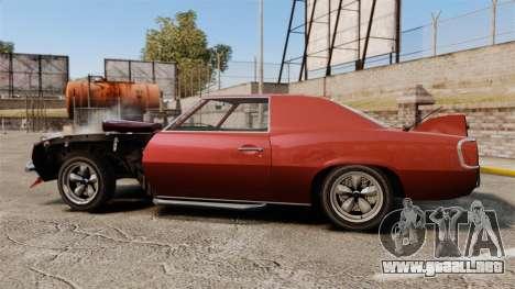Drag Vigero para GTA 4 left