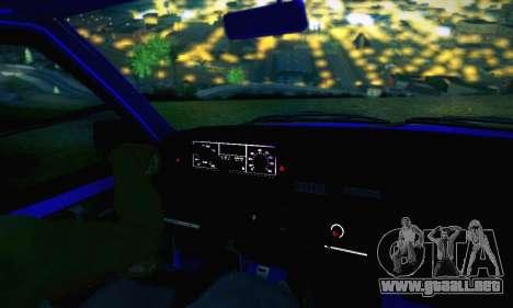 VAZ 21099 para el motor de GTA San Andreas