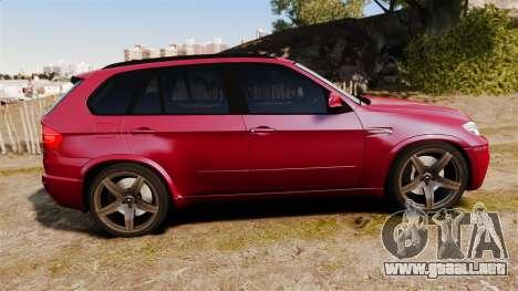 BMW X5M v2.0 para GTA 4 left