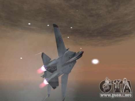 F-14 Tomcat HQ para vista lateral GTA San Andreas