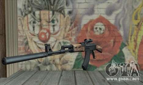 AK-47 Silencer para GTA San Andreas
