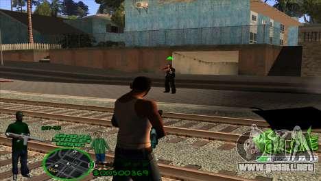 C-HUD Groove by HARDy para GTA San Andreas tercera pantalla