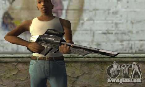 P-Laser Sniper Rifle para GTA San Andreas tercera pantalla