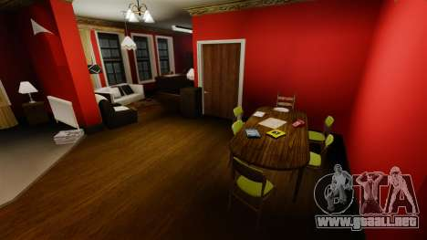 Apartamento reformado en Alderney city para GTA 4 adelante de pantalla