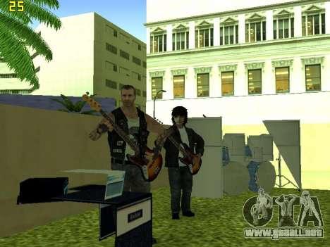 La Película del concierto para GTA San Andreas sexta pantalla