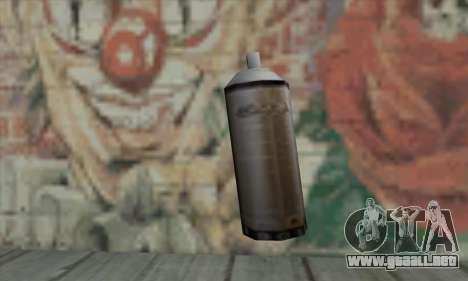 Montana Gold Spray para GTA San Andreas segunda pantalla