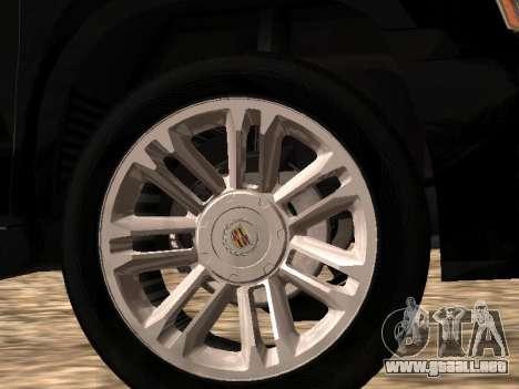 Cadillac Escalade 2010 para la visión correcta GTA San Andreas