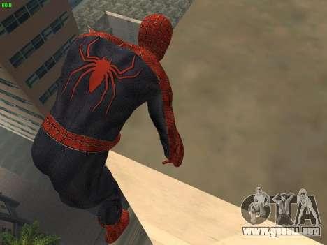 Hombre araña para GTA San Andreas sucesivamente de pantalla