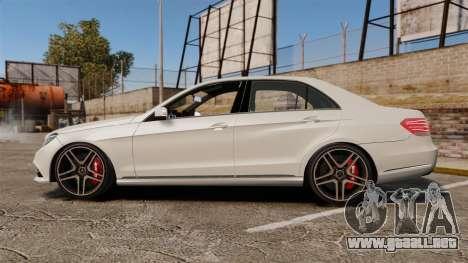 Mercedes-Benz E63 AMG 2014 v2.0 para GTA 4 left