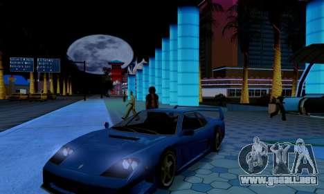 ENB CUDA 2014 for Low PC para GTA San Andreas sucesivamente de pantalla