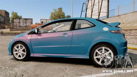 Honda Civic Type R 2007 para GTA 4 left