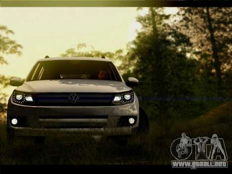 Volkswagen Tiguan 2012 para vista lateral GTA San Andreas
