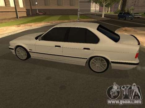 BMW 525 Smotra para GTA San Andreas left