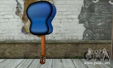 Guitarra para GTA San Andreas segunda pantalla