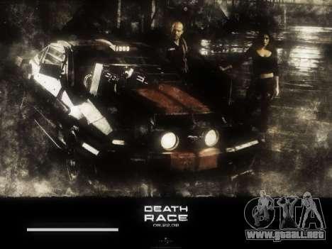 Inicio de las pantallas de la Carrera de la Muer para GTA San Andreas quinta pantalla