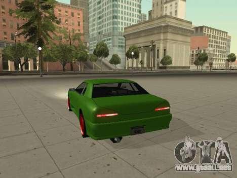 Elegy by X3noNon para GTA San Andreas vista posterior izquierda