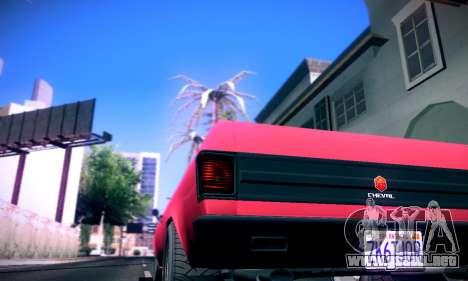 GTA V Picador para GTA San Andreas vista posterior izquierda