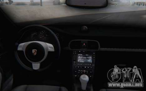 Porsche 911 Turbo para vista inferior GTA San Andreas
