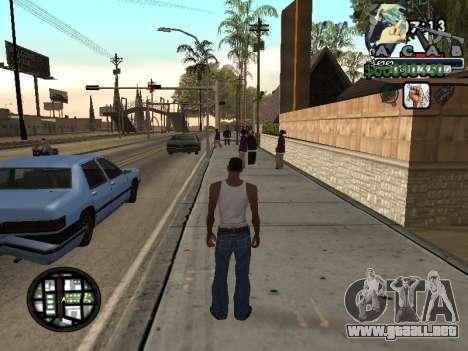 C-Hud Woozie Tawer para GTA San Andreas