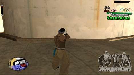 C-HUD By Fedya para GTA San Andreas segunda pantalla
