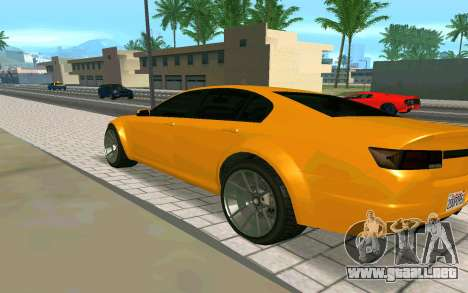 GTA V Fugitive Version 2 FIXED para GTA San Andreas left