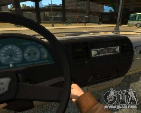 Gacela Evacuador de DPS para GTA 4 visión correcta
