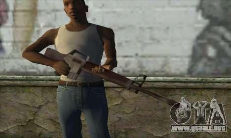 M16A1 para GTA San Andreas tercera pantalla
