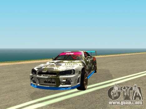 Nissan Skyline Drift para GTA San Andreas