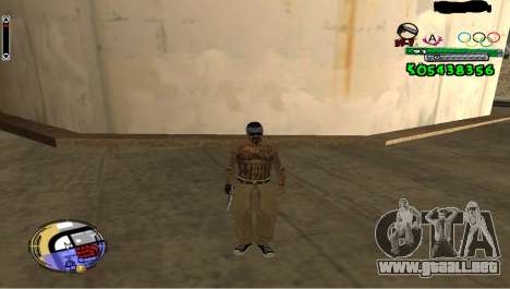 C-HUD By Fedya para GTA San Andreas