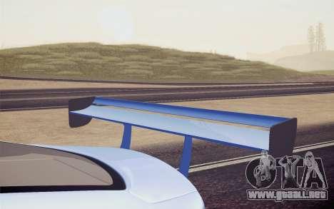 Hyundai Genesis Coupe 2010 Tuned para vista lateral GTA San Andreas