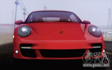 Porsche 911 Turbo para las ruedas de GTA San Andreas