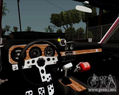 Ford Falcon Sprint 1972 para visión interna GTA San Andreas