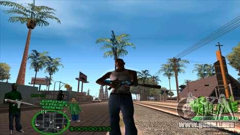 C-HUD Groove by HARDy para GTA San Andreas