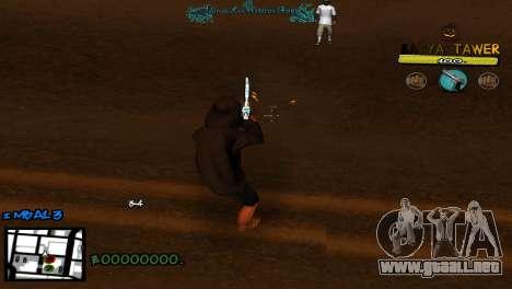 C-Hud by Baton Batya para GTA San Andreas tercera pantalla