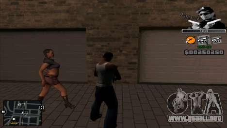 C-Hud Eazy-E para GTA San Andreas segunda pantalla