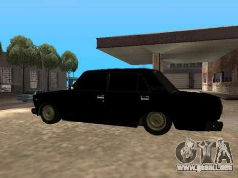 VAZ 2107 v1.2 Final para GTA San Andreas left