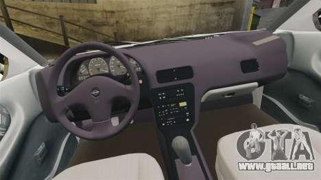 Nissan Tsuru para GTA 4 vista interior