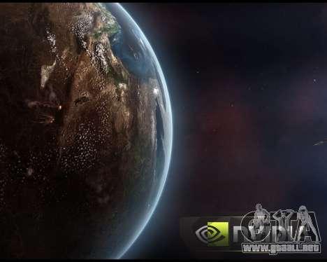 Nuevas pantallas de inicio de Espacio para GTA San Andreas séptima pantalla