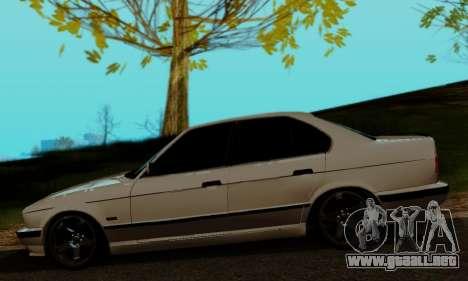 BMW 525 Re-Styling para GTA San Andreas vista posterior izquierda