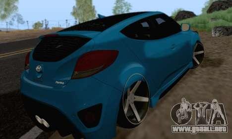 Hyundai Veloster para la visión correcta GTA San Andreas
