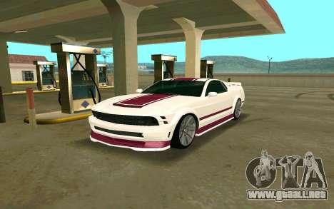GTA V Vapid Dominator para GTA San Andreas