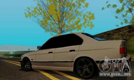 BMW 525 Re-Styling para la visión correcta GTA San Andreas