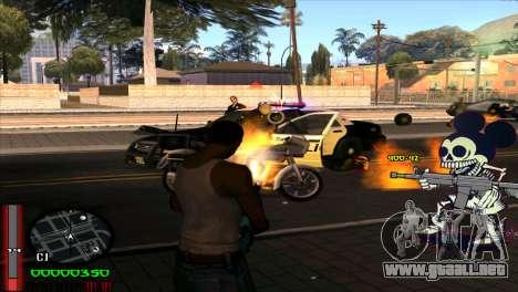 C-Hud Mickey para GTA San Andreas tercera pantalla