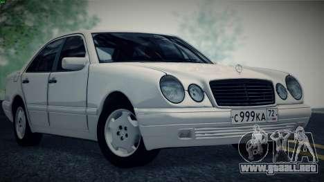 Mercedes-Benz E420 para GTA San Andreas left