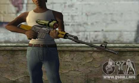 M76 para GTA San Andreas tercera pantalla