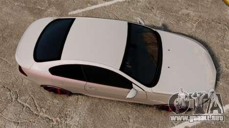 BMW M6 Vossen para GTA 4 visión correcta