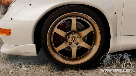 Porsche 993 GT2 1996 v1.3 para GTA 4 vista hacia atrás