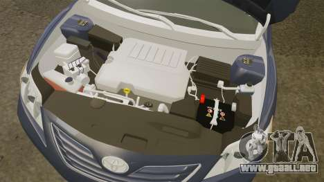 Toyota Camry para GTA 4 vista interior
