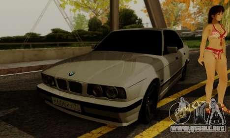 BMW 525 Re-Styling para visión interna GTA San Andreas