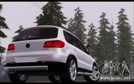 Volkswagen Tiguan 2012 para la visión correcta GTA San Andreas